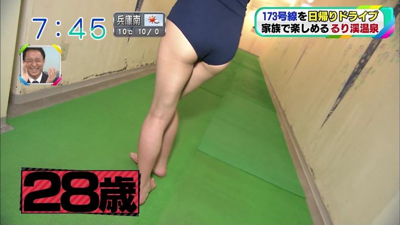 【お尻キャプ画像】テレビでハミケツし過ぎな水着着る女ってもはや隠す気とかないんだろうなww 14