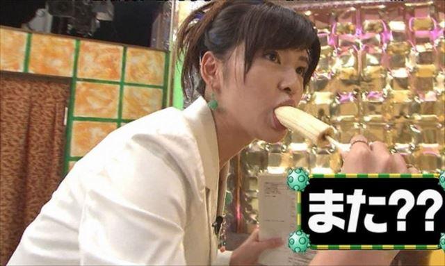 【擬似フェラ画像】エロい食べ方で視聴者を魅了するタレント達!この表情にも注目www 08