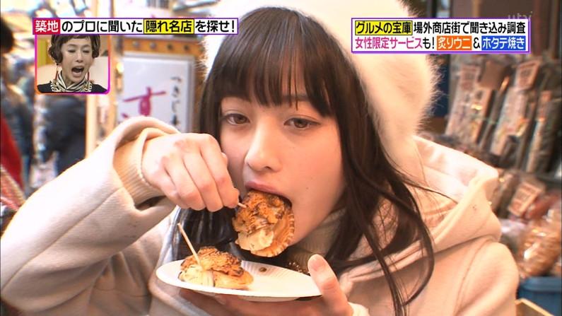 【擬似フェラ画像】エロい食べ方で視聴者を魅了するタレント達!この表情にも注目www 11