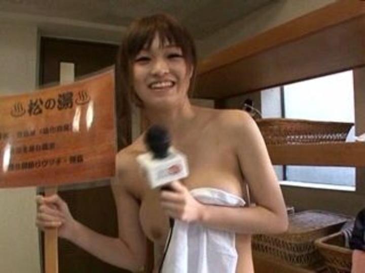 【放送事故画像】温泉レポート中に「見えた!」の連発w映ってしまった女子アナやタレント達w 20