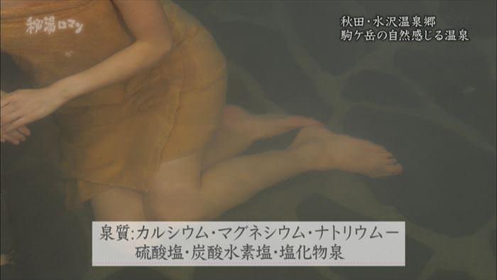 【入浴キャプ画像】女性が入浴してる姿だけでエロい温泉レポ! 18