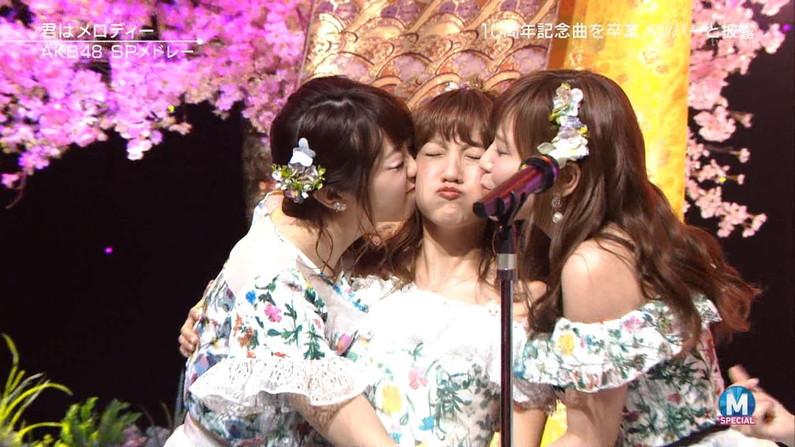 【キステレビキャプ画像】見てるだけで照れちゃう女子アナやタレント達のキス顔やキスシーンww 16
