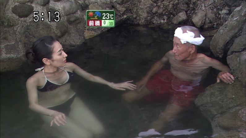 【入浴キャプ画像】温泉レポートとか言いながら半分はエロ目的じゃないか!ww 08