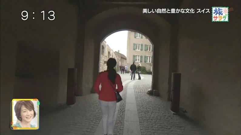 【お尻キャプ画像】テレビに映ったプリケツが大集合!パン線まで浮きまっくてるしw 20