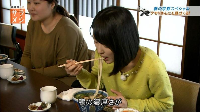【擬似フェラキャプ画像】食レポするタレント達の卑猥な顔をカメラは見逃さなかったw 18