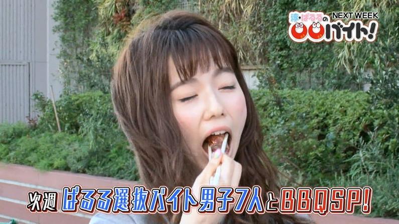 【擬似フェラキャプ画像】食レポするタレント達の卑猥な顔をカメラは見逃さなかったw 24