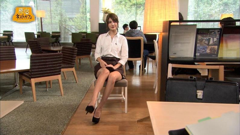 【放送事故画像】一瞬の気の緩みがパンチラに繋がるテレビでのパンチラwww 09
