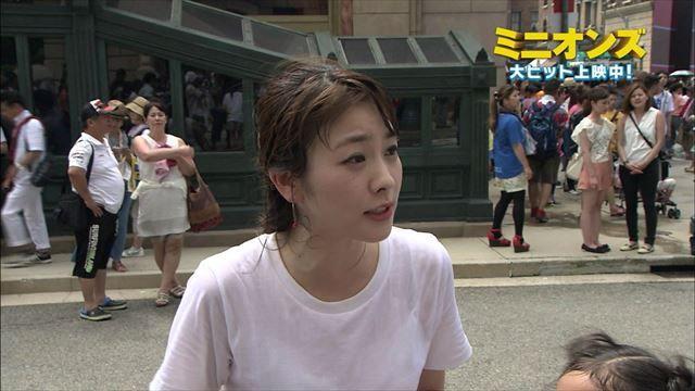 【ブラ透けキャプ画像】やらしい透け透けの服着ちゃってテレビに出るってどぉゆうことだww 09