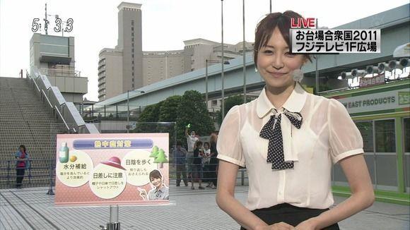 【ブラ透けキャプ画像】やらしい透け透けの服着ちゃってテレビに出るってどぉゆうことだww 13