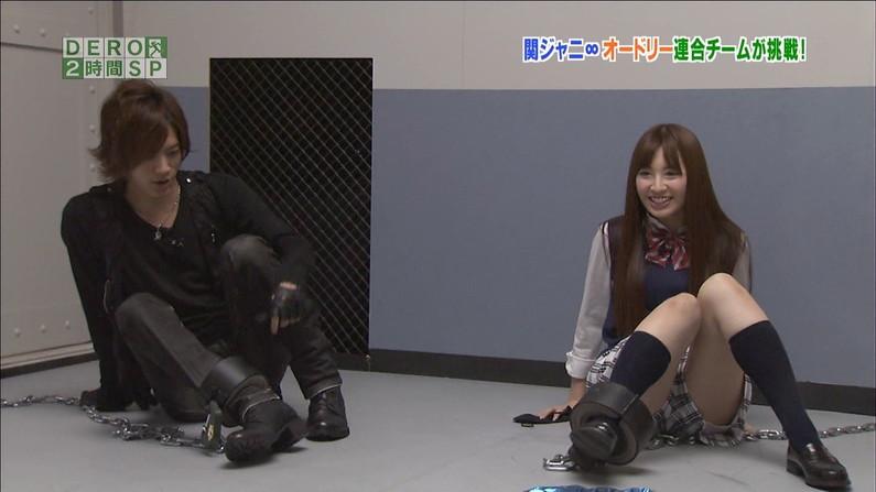 【太ももキャプ画像】誰もが羨ましがるタレント達の綺麗な足を吟味しようじゃないかw