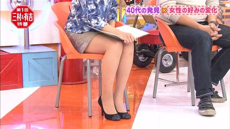 【太ももキャプ画像】誰もが羨ましがるタレント達の綺麗な足を吟味しようじゃないかw 22