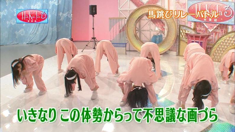 【お尻キャプ画像】キュッと食い込んだズボンからパンツラインまで見えちゃってる女子アナ達 05