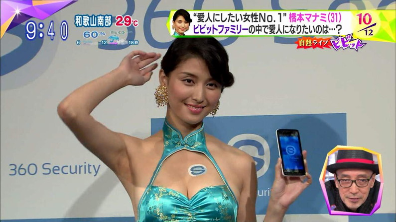 【谷間キャプ画像】ユルユル胸元から見せつけるタレント達の谷間に思わず反応してしまった!