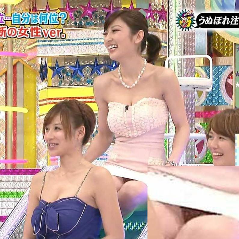 【放送事故画像】み、見えてる~!?タレント達の際どいパンチラに注目www 08
