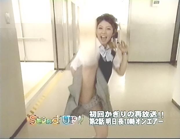 【放送事故画像】み、見えてる~!?タレント達の際どいパンチラに注目www 12