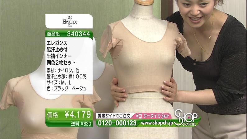 【谷間キャプ画像】商品の説明より谷間の方が気になるテレビショッピングww   02