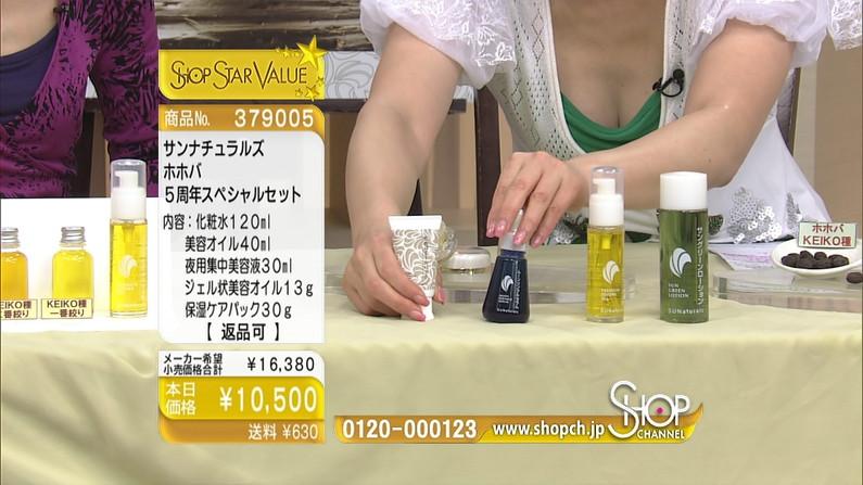 【谷間キャプ画像】商品の説明より谷間の方が気になるテレビショッピングww   04