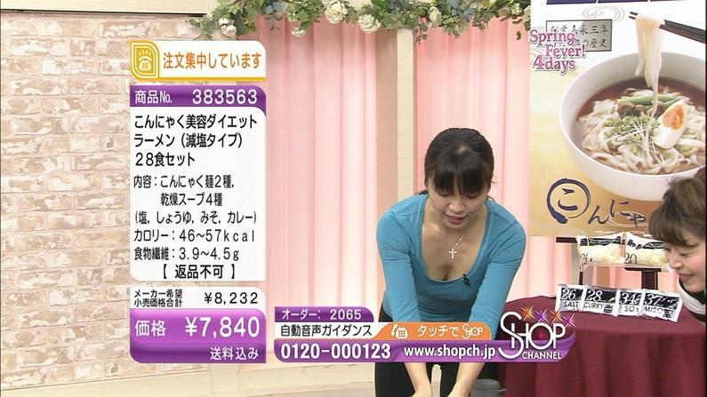 【谷間キャプ画像】商品の説明より谷間の方が気になるテレビショッピングww   07