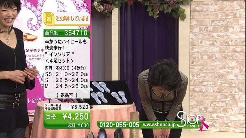 【谷間キャプ画像】商品の説明より谷間の方が気になるテレビショッピングww   14