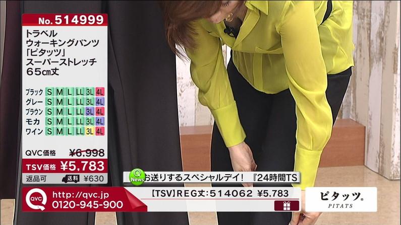 【谷間キャプ画像】商品の説明より谷間の方が気になるテレビショッピングww   17