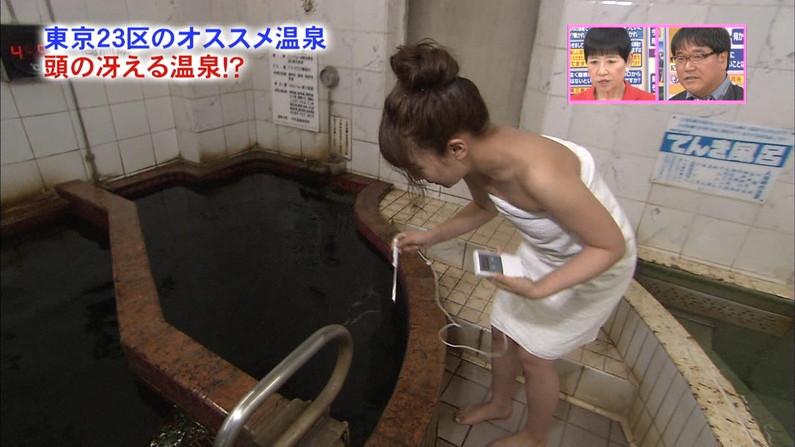 【入浴キャプ画像】芸能人の生肌が拝める温泉レポって最高でしょwww