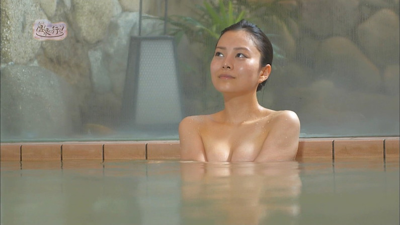 【入浴キャプ画像】芸能人の生肌が拝める温泉レポって最高でしょwww 21