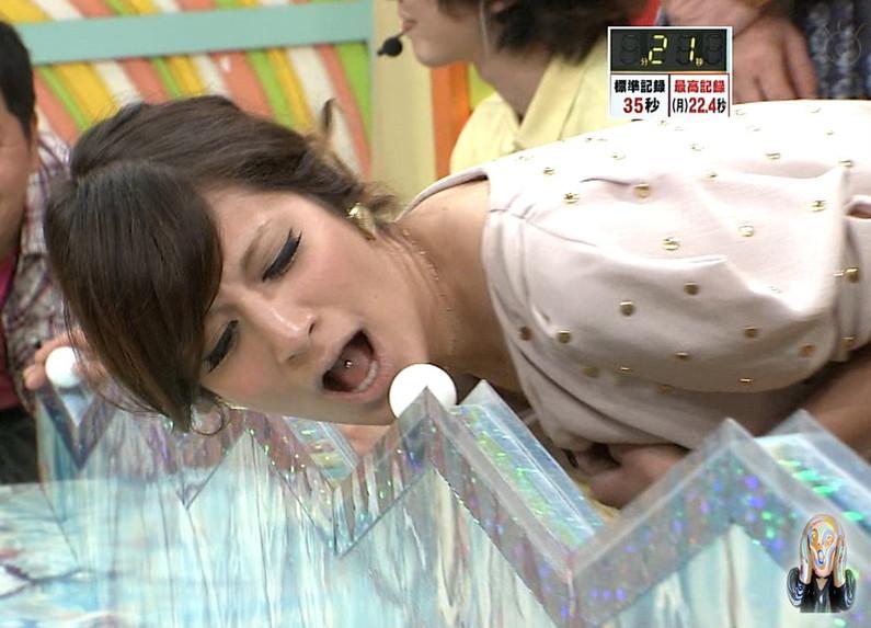 【擬似フェラ画像】芸能人のフェラ顔が拝める食レポがエロすぎてたまらんww 05