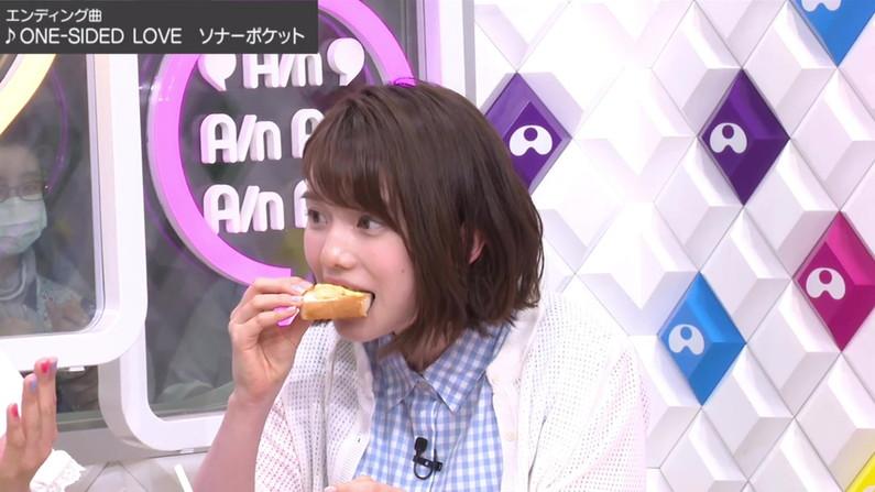 【擬似フェラ画像】芸能人のフェラ顔が拝める食レポがエロすぎてたまらんww 08