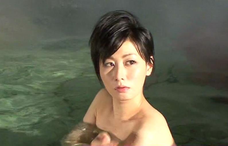 【入浴キャプ画像】もしかしたら美女の丸裸が見れるんじゃないかと大きな期待を抱く温泉レポww 11