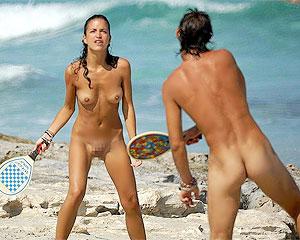 全裸でスポーツって開放的すぎるだろ!?w