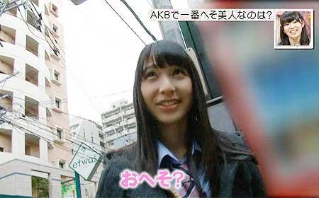 画像☆HKT松岡菜摘が制服の裾まくったヘソチラリがドスケベ過ぎると話題にwwww